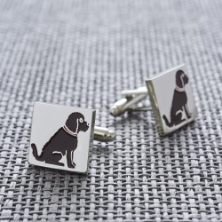 Cockapoo Cufflinks