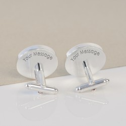 His Favourite Things Cufflinks - Personalised Cufflinks