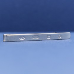 Spread Hallmark Heavy Sterling Silver Tie Slide