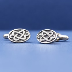 Celtic Art - Sterling Silver Cufflinks