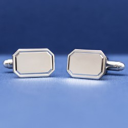 Esquire St Ives Sterling Silver Cufflinks