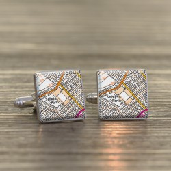 Crystal Palace Football Cufflinks | Selhurst Park Stadium Cufflinks