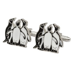 Three Penguins Cufflinks