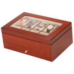 Dornoch Walnut Luxury Watch Box