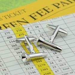 Golf Tee Cufflinks