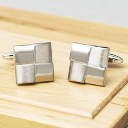 Brushed Horizons Cufflink