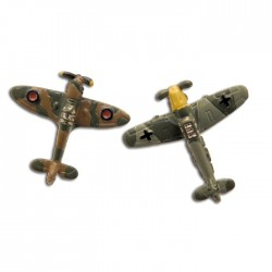 1938 Spitfire and Messerschmitt Plane Cufflinks
