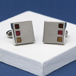 Andrew Worth Sonar Autumn Cufflinks