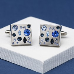 Crystal Night Cufflinks Andrew Worth