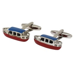 Canal Narrowboat Cufflinks