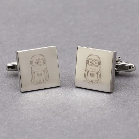 Bespoke Engraved Cufflinks