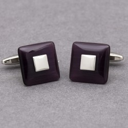 RAPTURE Purple Mist Cufflinks