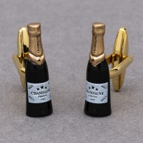 Champagne Bottle Cufflinks
