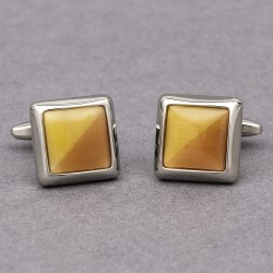 Relativity Yellow Cufflinks
