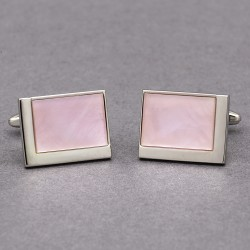 Impressions Pink Cufflinks
