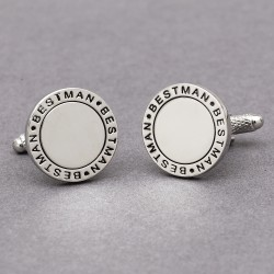 Eternal Best Man Wedding Cufflinks