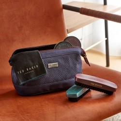 TED BAKER Blue Cadet Shoe Shine Kit