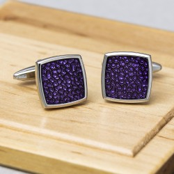 Purple Magma Cufflinks