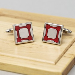 Fortress Red Cufflinks