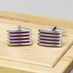 Alleto Light Purple Grill Cufflinks