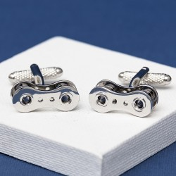 Bike Chain Cufflinks | Cycling Cufflinks