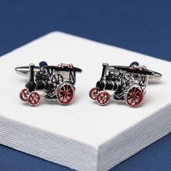 Vintage Traction Engine Cufflinks