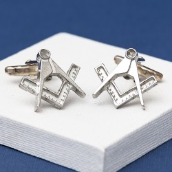 Pewter Masonic Cufflinks