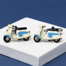 1967 Blue Lambretta Cufflinks