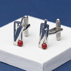 Anyone For Cricket Cufflinks