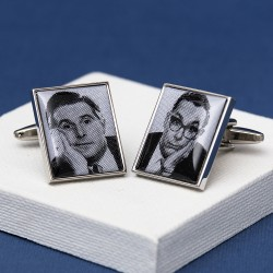 Morecombe and Wise Picture Cufflinks