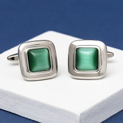 The Middleton Jade Cufflinks