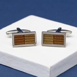 Golden Zonda Cufflinks