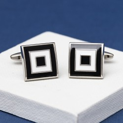 Cubic Composure Cufflinks