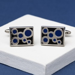 Zane Circles Cufflinks
