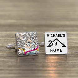 Everton FC 2nd Home Football Ground Cufflinks