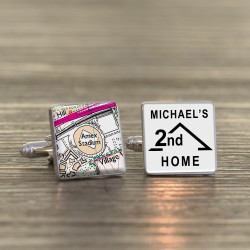 Brighton and Hove Albion FC 2nd Home Football Ground Cufflinks