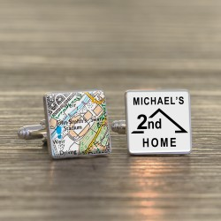 Huddersfield Town FC 2nd Home Football Ground Cufflinks