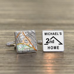 Aston Villa FC 2nd Home Football Ground Cufflinks