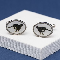 Cheetah Cufflinks