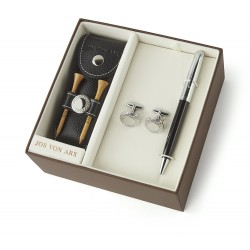 Leather Golf Gift Set - from Jos Von Arx