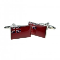 Royal Navy Red Ensign Flag Cufflinks