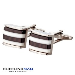Black Pisco Humbug Cufflinks