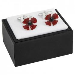 Poppy Remembrance Cufflinks