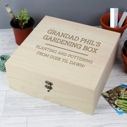 Personalised Grandad Keepsake Box