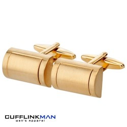 Golden Barrels Cufflinks
