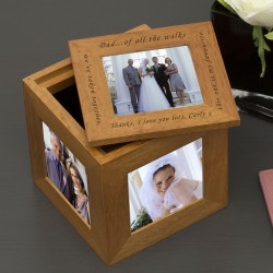 Of All The Walks... Wedding Photo Cube