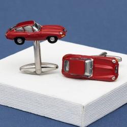 Series 1 E-Type Jaguar Car Cufflinks