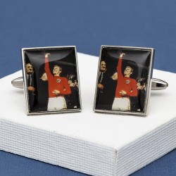 World Cup Football Cufflinks