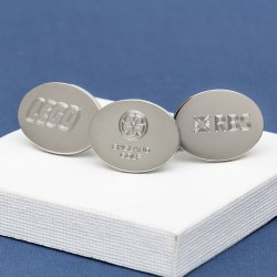 Logo Engraved Cufflinks