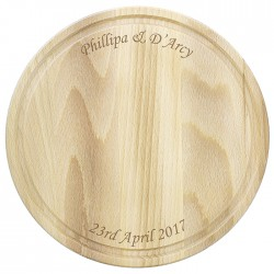 Any Message Round Chopping Board